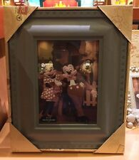 DISNEY PARKS GRAY MICKEY MOUSE EAR PICTURE PHOTO FRAME NEW