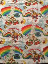 Vintage Rainbow Brite FULL Fitted Sheet ONLY Excellent Preowned