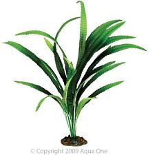Aqua One A1-24136 Silk Plant African Onion 40cm For Freshwater Aquarium & Terrar