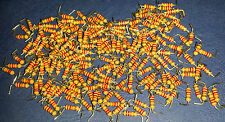 22k 22000 Ohm  5%  Carbon Film Resistor CR25 1/4 W ..... lot of 200