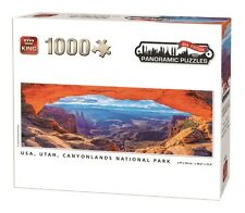 1000 Piece Panoramic Jigsaw Puzzle - THE GRAND CANYON, CANYONLANDS PARK, 05604