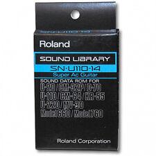 Roland SN-U110-14 Super Ac Guitar card U-220,CM-64,CM-32P,D-70,MV-30,mod 660/760