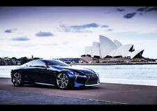 AMAZING LEXUS LF CONCEPT NEW A1 CANVAS GICLEE ART PRINT POSTER