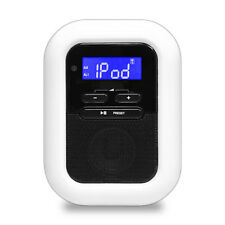 Pyle PICL36B Clock Radio with 30-Pin iPod/iPhone Dock, FM Radio, AUX Input, LED