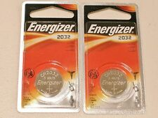 2 pc FOIL PACKAGE GENUINE ENERGIZER CR2032 lithium 3v battery cr 2032 EXPIRE2023