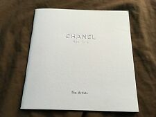 Chanel New York The Artists 7x7 2011 Catalog Art Show Information Book