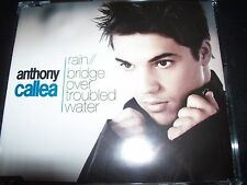 Anthony Callea Rain / Bridge Over Troubled Water Aust CD Single – Like New