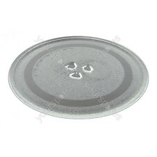 Microwave 245mm, 9.5 Inches Glass turntable plate 3 fixings, Dishwasher Safe