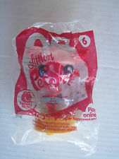McDonald's 2012 Littlest Pet Shop #6- Minka Mark - In Original Sealed Package