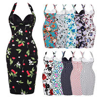 VINTAGE 11 STYLES 50'S 60'S RETRO PENCIL WIGGLE PINUP EVENING DRESSES