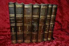 La Biblioteca Ecclesiastica Codice Scientifico Cattolico Papa Pio IX 7 Tomi 1855
