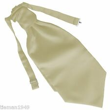 Italian Satin Wedding Ruche Cravat Tie