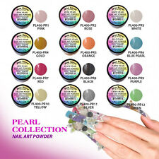 Mia Secret  ACRYLIC POWDER  PEARL COLLECTION12 pc nail art+1GLITTER