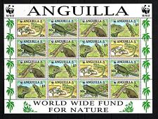 ANGUILLA - SG1004-1007 MNH 1997 SHEETLET (4 SETS) WEST INDIAN IGUANAS - WWF