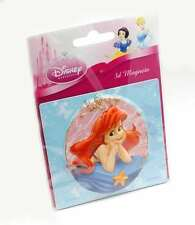 Disney Princess 3D Puffed Fridge Magnet Ariel The Little Mermaid Childrens TV