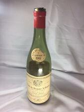 Empty 1961 Louis Jadot Cote de Beaune-Villages, Burgundy Wine Bottle with Cork