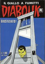 DIABOLIK R N° 558 - 17 DICEMBRE 2007 - CONDIZIONI EDICOLA