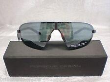 Original PORSCHE DESIGN Sonnenbrille P´8490 Farbe B grau Wechselgläser