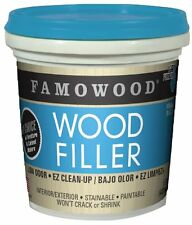 FAMOWOOD Latex Wood Filler - White - Pint (473mL), New, Free Shipping