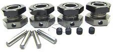 Hot Bodies D815 - 17mm Wheel HEX set hubs lightweight D812 Tessmann 114615 Buggy