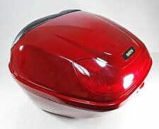 Red Hard Case, Luggage Box, Top Box for Scooter / Motorcycle, 154923