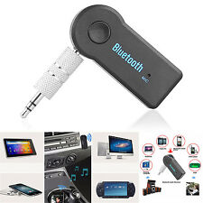 Wireless Bluetooth 3.5mm AUX Audio A2DP Stereo Music MP3 Car Receiver Adapter LW