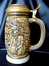 1987 Vintage The Gold Rush Stein Mug Avon Collectibles #183249