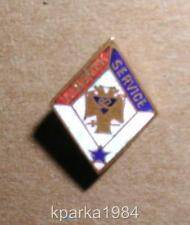 WW1 ERA BLUE STAR SON IN SERVICE MASONIC 32nd DEGREE LIBERTY SERVICE PIN