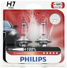 Philips H7 X-TremeVision Upgrade 100% Super More White Light Bulb (STREET LEGAL)