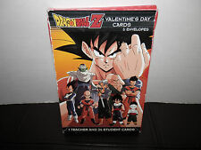 DRAGON BALL Z VALENTINE'S DAY CARDS Sealed set