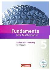 Fundamente der Mathematik 01. Schülerbuch Gymnasium Baden-Württemberg von...