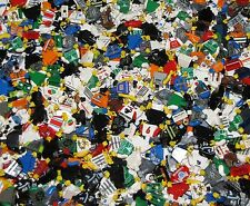 LEGO BULK LOT OF 100 MINIFIGURE TORSOS WITH HANDS TOWN POLICE CITY MINIFIGS