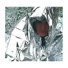 GENUINE BRITISH ARMY BCB FOIL / SPACE BLANKET SAS SF RAF CADETS COMBAT SURVIVAL