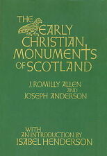 Early Christian Monuments of Scotland, Anderson, Joseph, Allen, J.Romilly, Good,