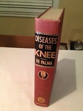 Vintage Medical Book Diseases of the Knee  De Palma first edition 1954  nice