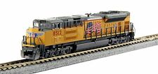 "Kato N Scale 176-8433 SD70ACe Union Pacific (UP) ""Flag"" #8512 DCC Ready New!"