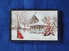 BE HOME FOR CHRISTMAS FRIDGE MAGNET