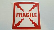 "Fragile Sticker 4"" x 4"""