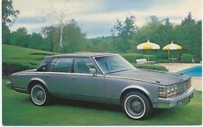 Cadillac Seville Four Door for 1979 original USA issued Postcard