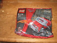 NEW LEGO 30121 DISNEY PIXAR CARS RED GREM WITH ON OWN OR ADD SUIT 6-12YEARS