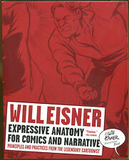 Expressive Anatomy for Comics & Narrative by Will Eisner-First Edition-2008
