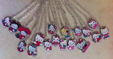 9 x hello kitty style collier pendentif enfant enfants joblots sac de fête cadeaux