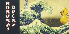 """Hokusai Ducky Rubber Duck Japan Small 4"""" by 2"""" inch MOTION FLIP Book New"""