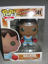 Funko Pop Games Street Fighter Balrog Vinyl Figure-New