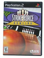 PS2 Strike Force Bowling Video Game multiplayer family friendly golf COMPLETE