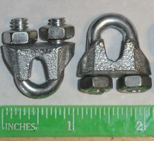 """50 pcs 3/16"""" CABLE CLAMP U BOLT STEEL WIRE CLIP U-BOLT -VIEW our eBay Store!!!!"""