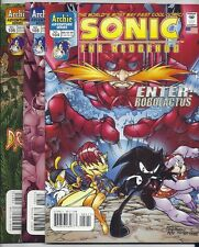 ARCHIE COMICS SONIC THE HEDGEHOG #104 105 AND 106 ROBOLACTUS! SEGA! NM