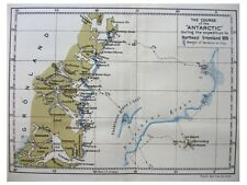 1901 Nathorst - SWEDISH EAST GREENLAND EXPEDITION - Pre Book -  2 COLOR MAPS 01