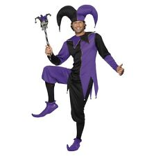 Medieval Jester Costume Halloween Fancy Dress