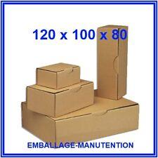 10 CARTONS BOITE POSTALE EMBALLAGE 120 x 100 x 80 mm ~ LIVRAISON GRATUITE